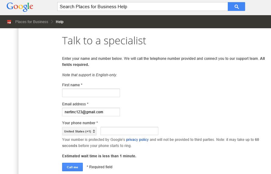 Call Google 4