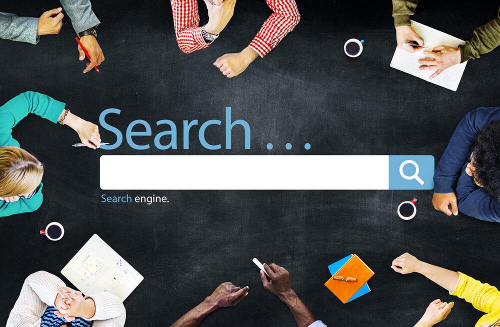 a search bar
