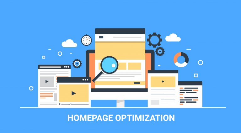 homepage optimization