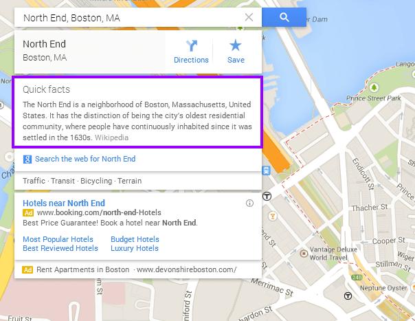 North End   Google Maps