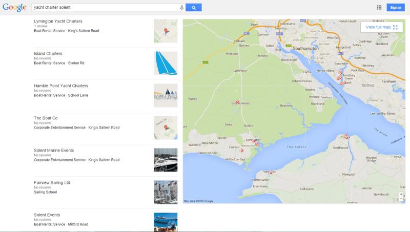 More Google Local Results