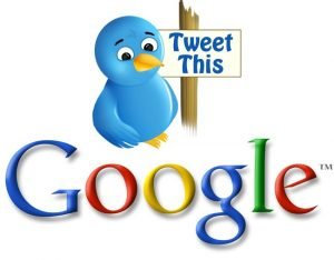 Google index live Tweets