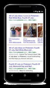 Google Mobile Carousal