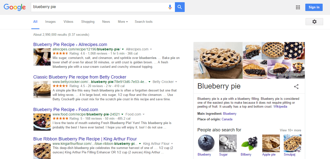 blueberry pie   Google Search