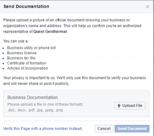 facebook documentation