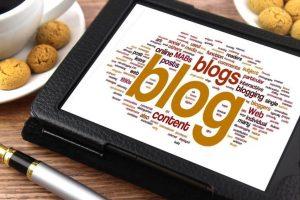 blog on ipad