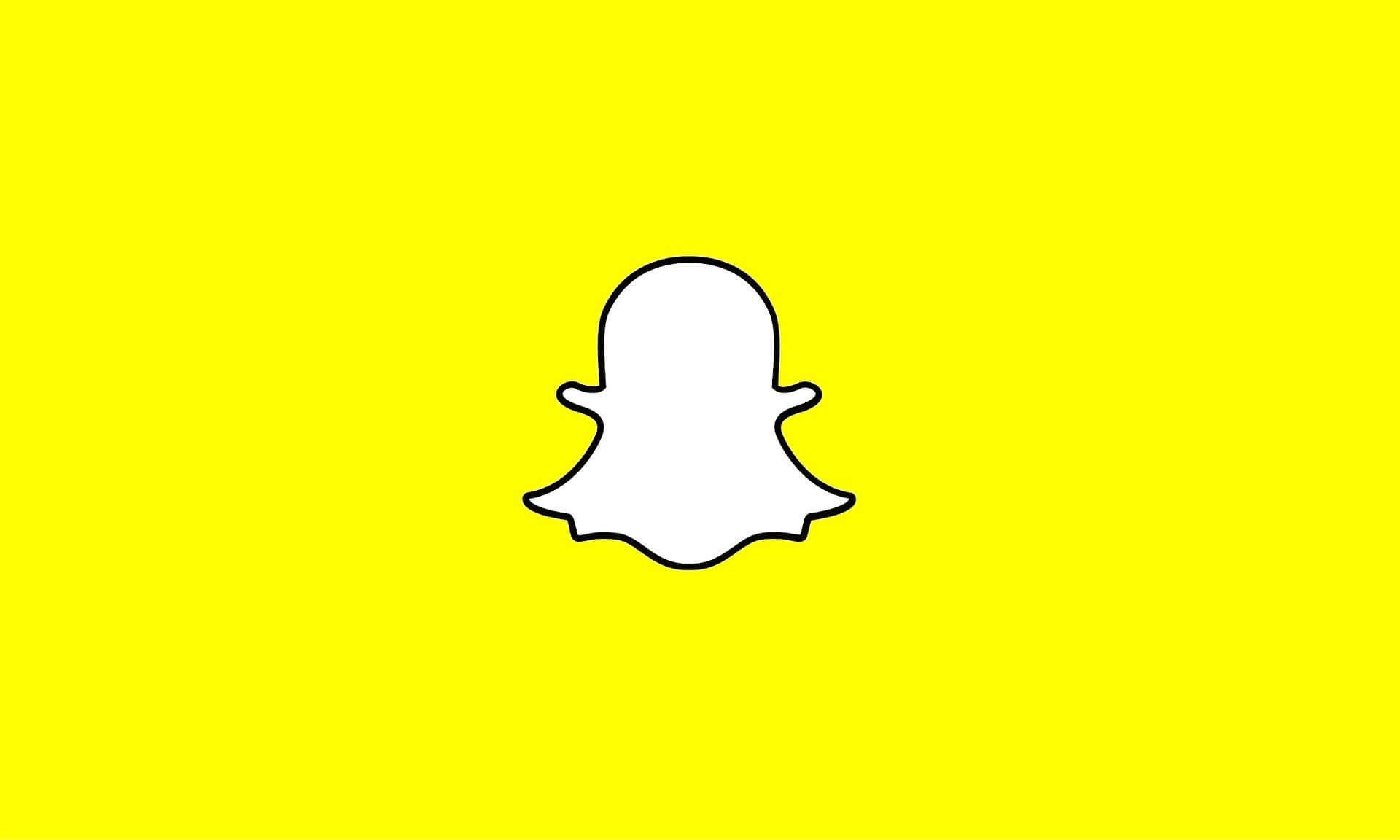 snapchat logo banner