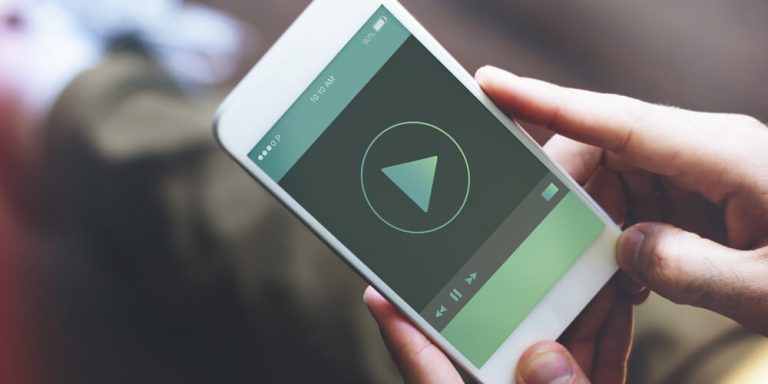 playing video on phone