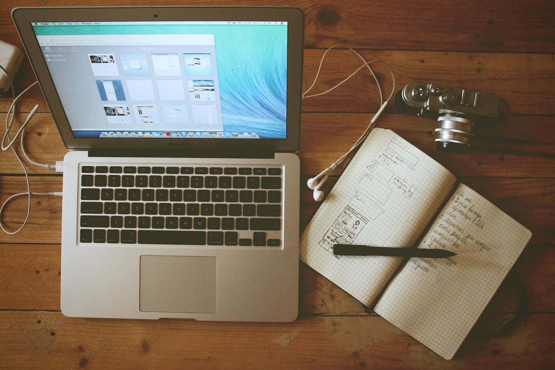 Blog writing at home