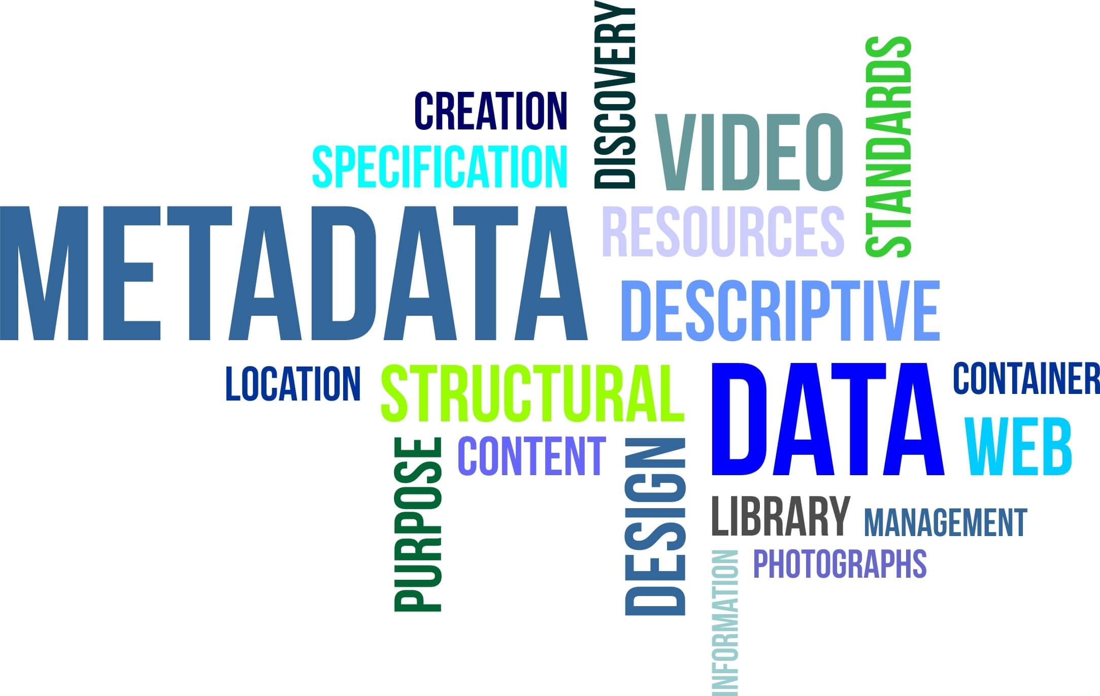 metadata word jumble