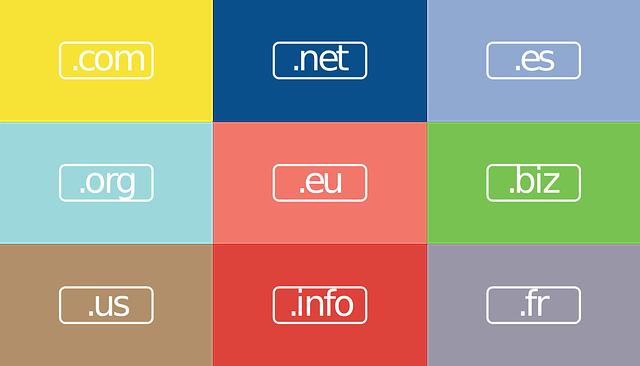 .net, .eu, .info