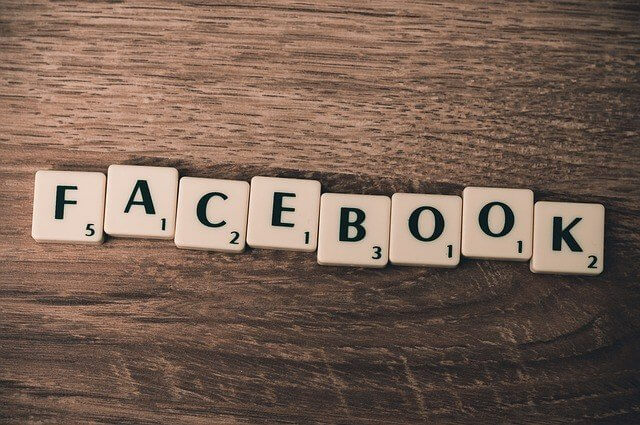 facebook in scrabble form