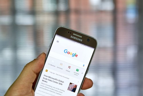 Google mobile seach results for images increases
