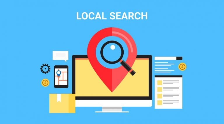 local search banner graphic