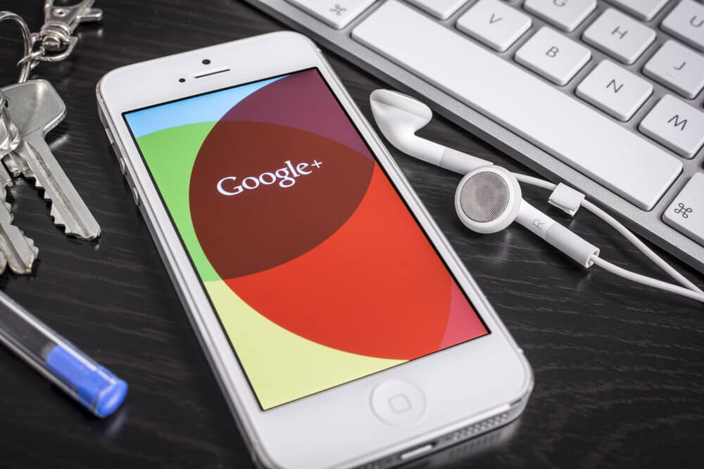 iPhone with Google Plus