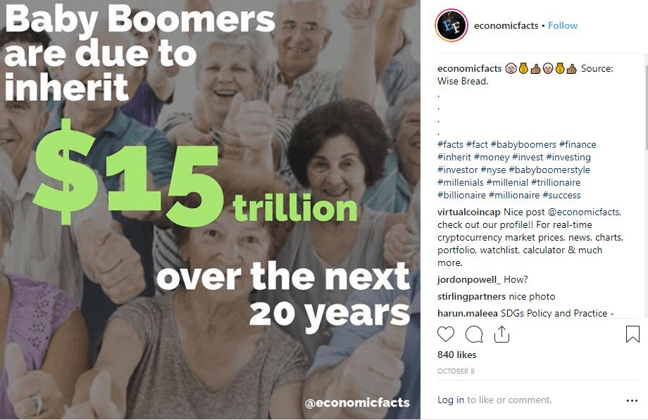 economic facts instagram post