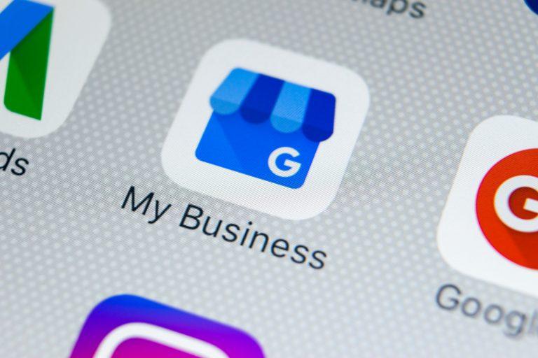 google my business app logo
