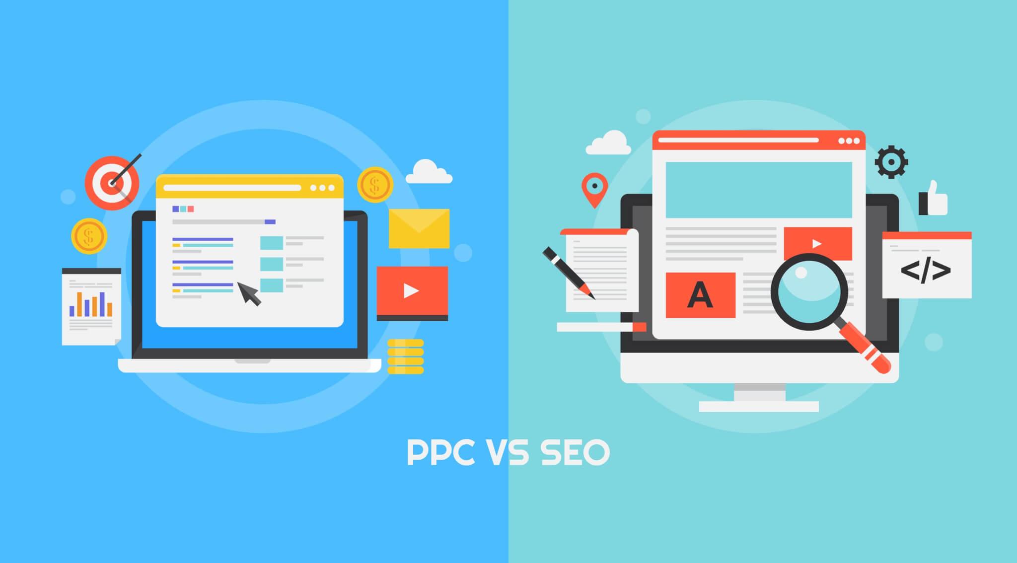 PPC VS SEO image