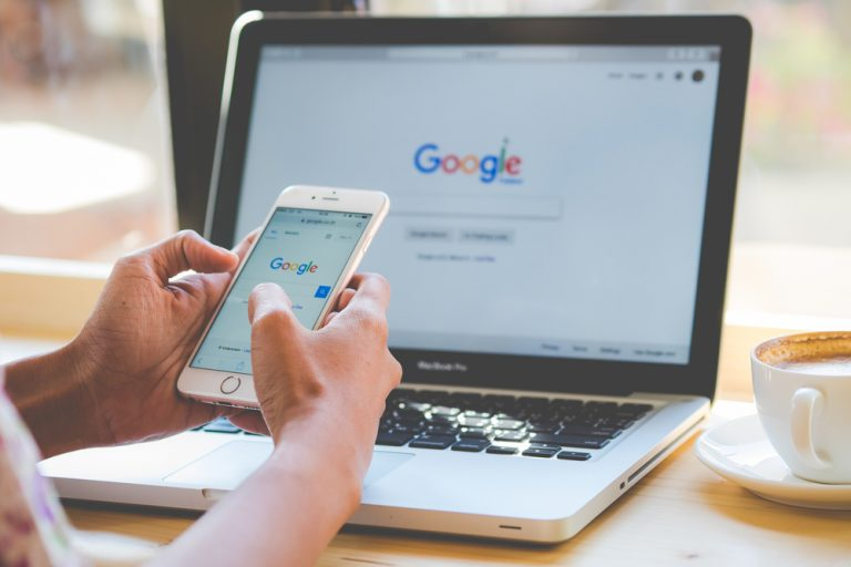 User does local search on Google and Google My Business