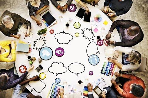 content marketing brainstorm session