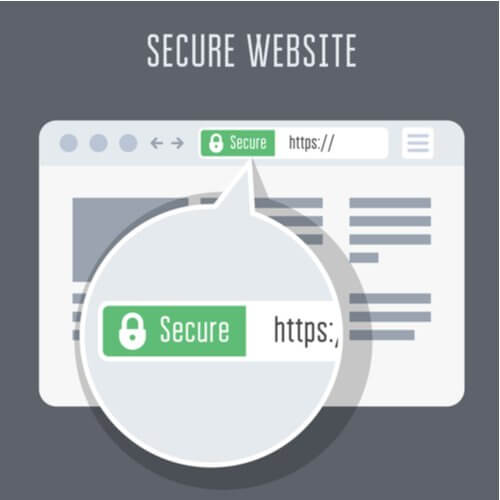 HTTPS secured site