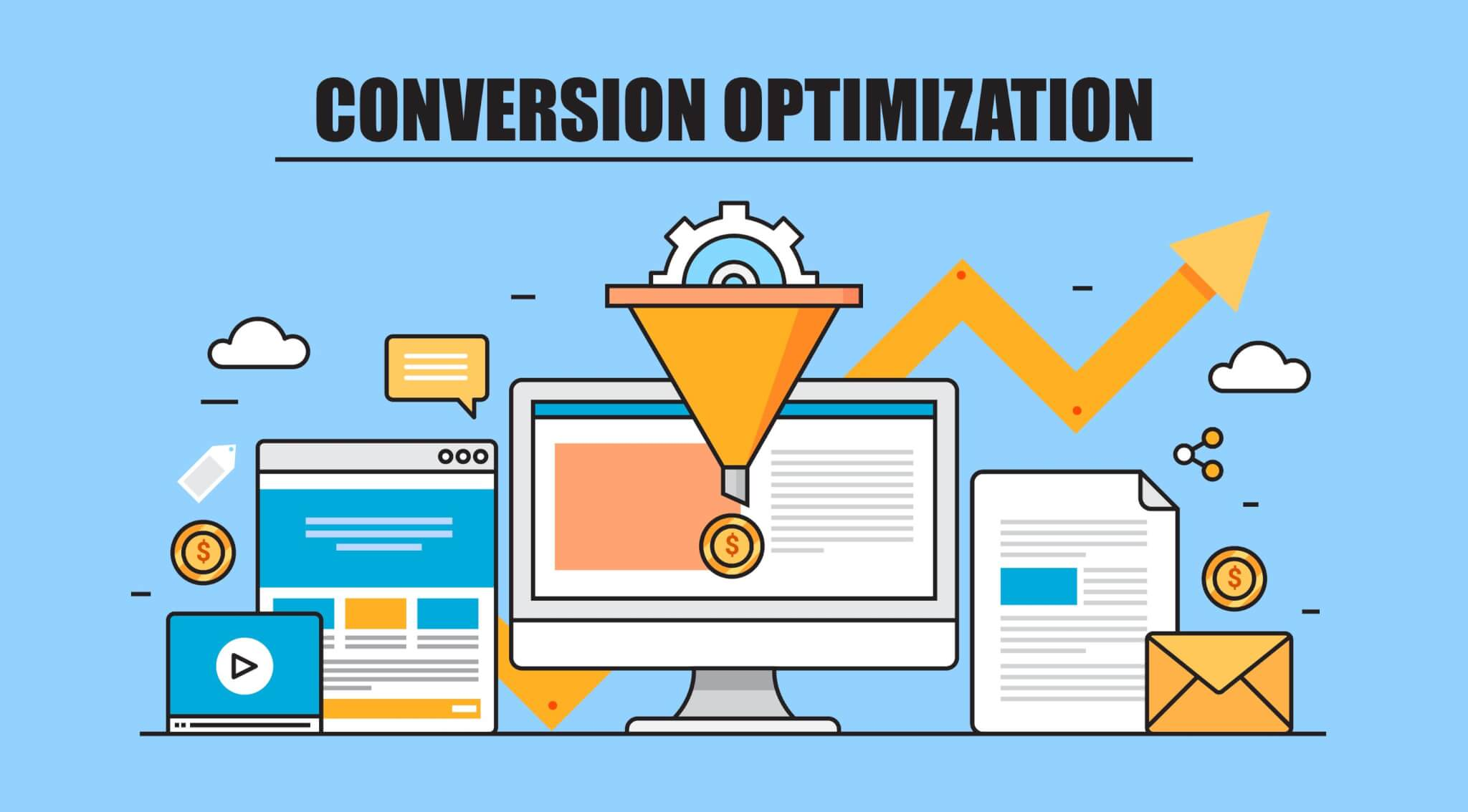 An image of the words Conversion Optimization