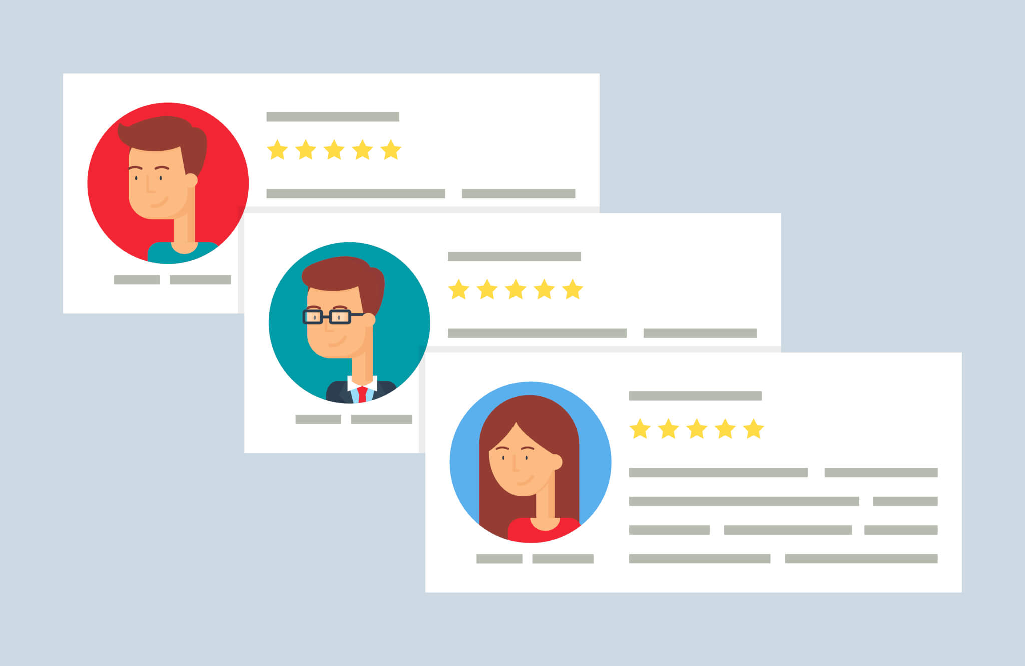 online reputation and positive reviews