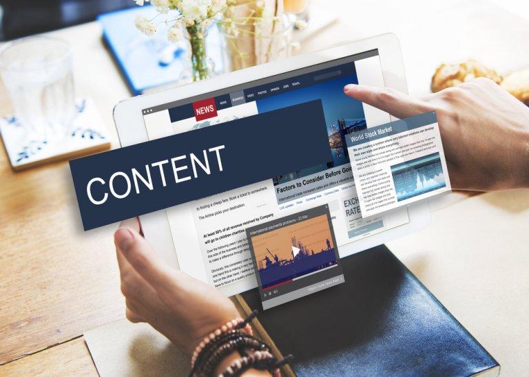 Website Content Building