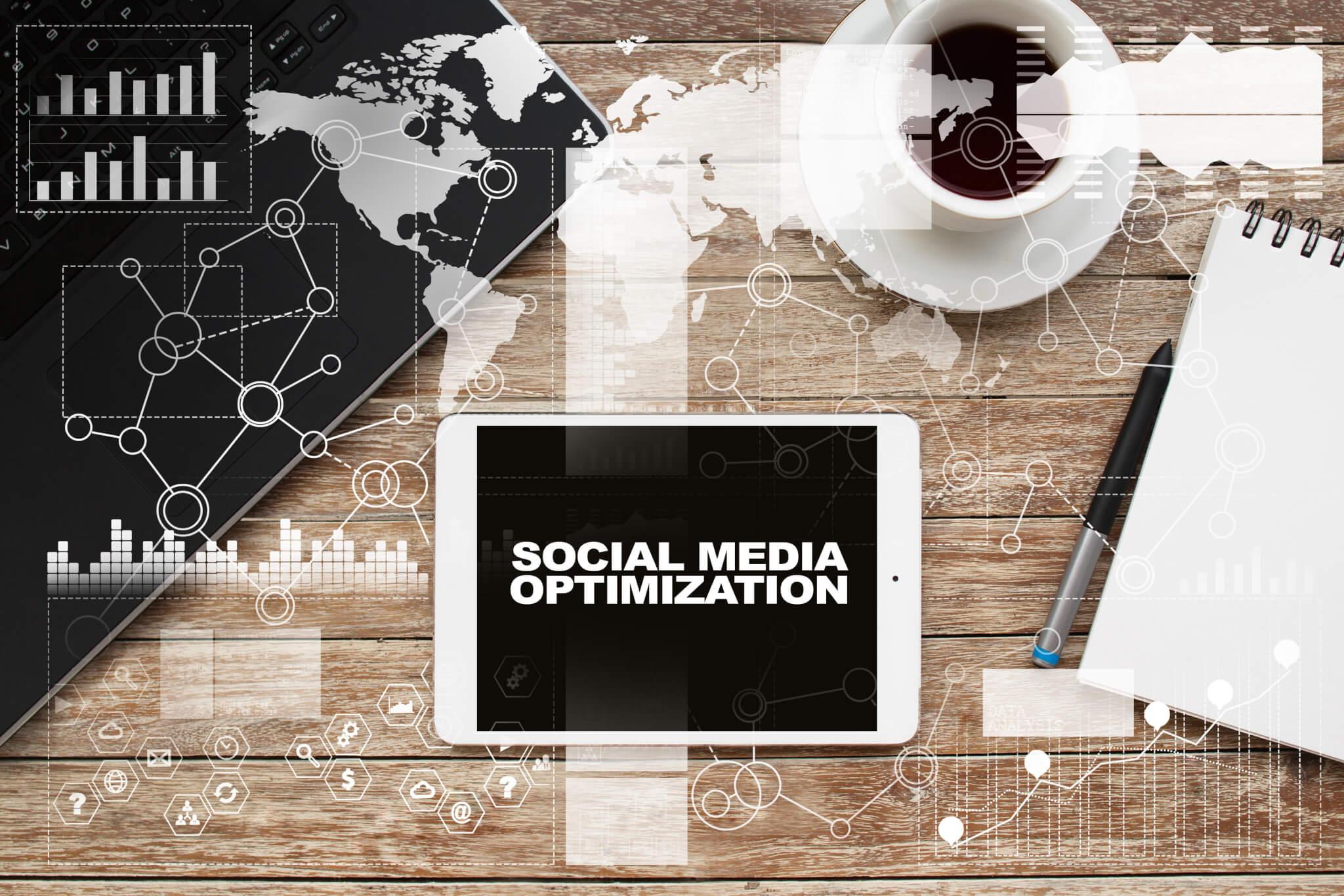 "ipad with phrase ""social media optimization"""