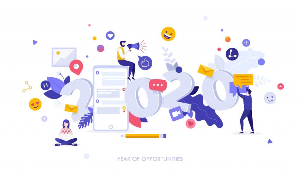 marketing plan concept 2020