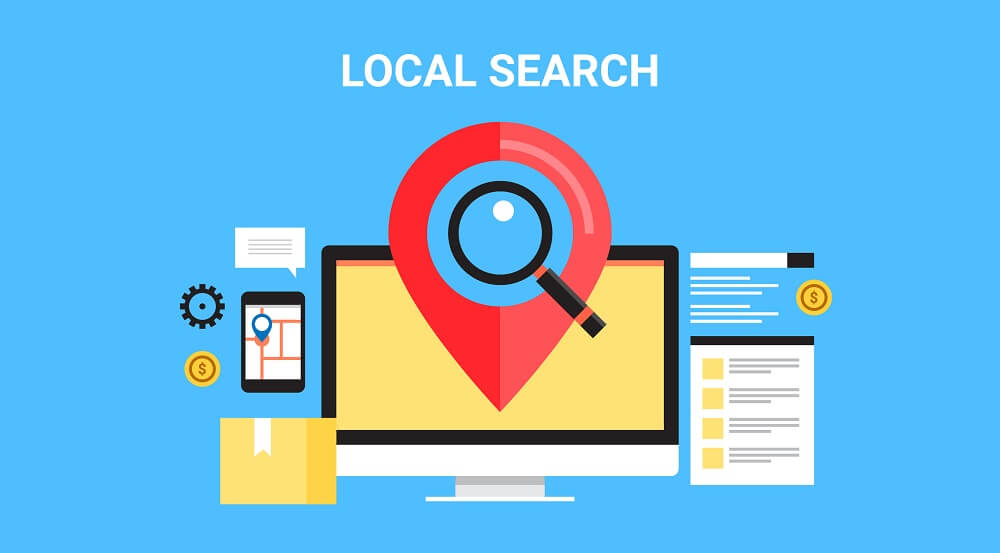 local search graphic