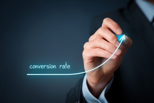 an example of increasing conversion rate