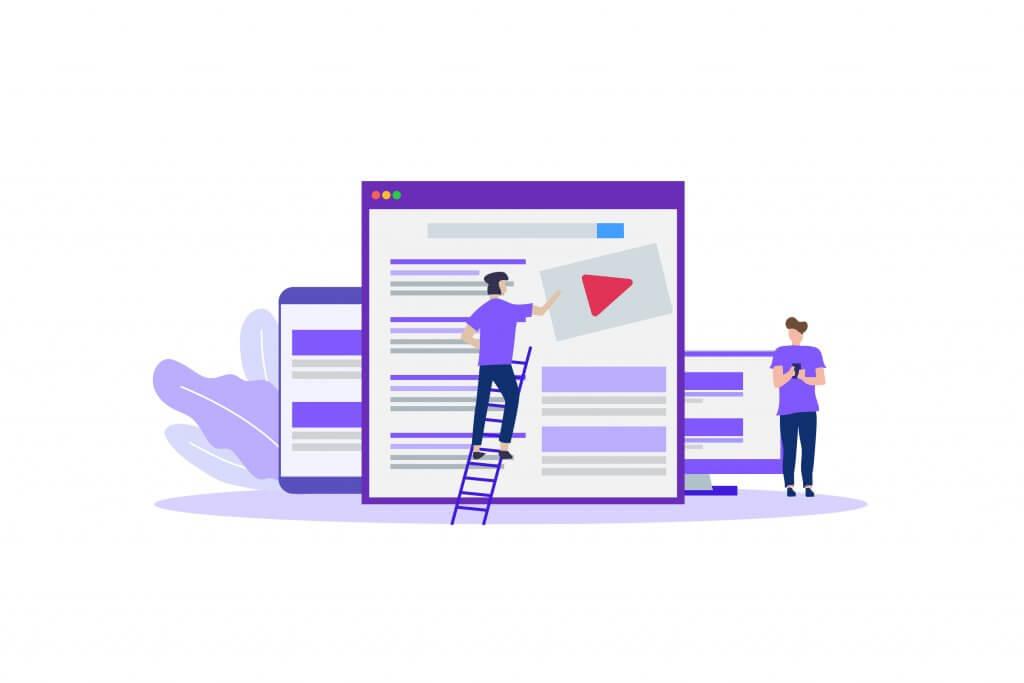 online ads on desktop, mobile and tablet