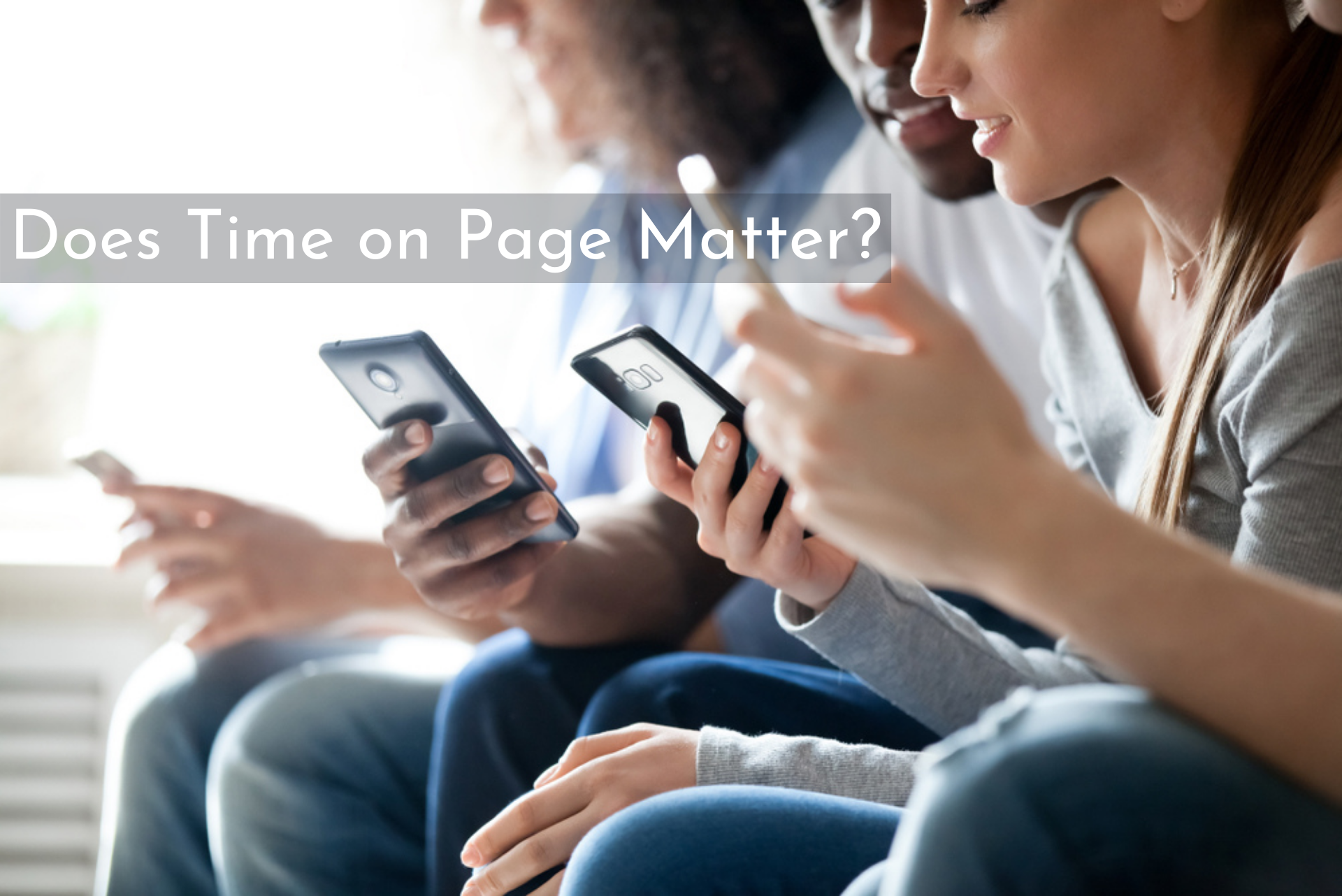 Does Time on Page Matter?
