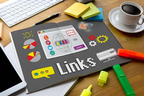 internal links on a website