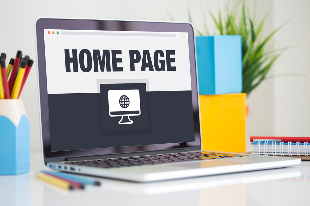 computer home page