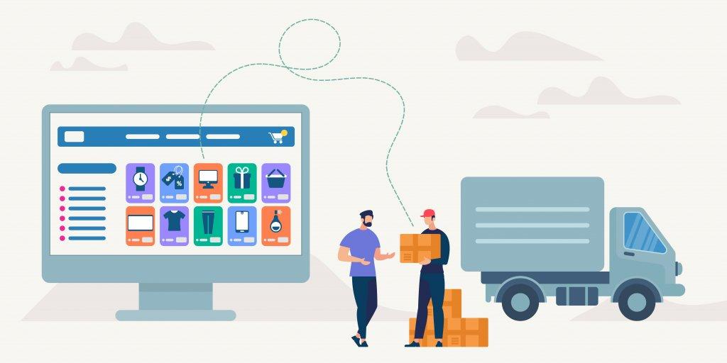 an e-commerce webpage