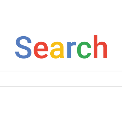 Google Search Engine page