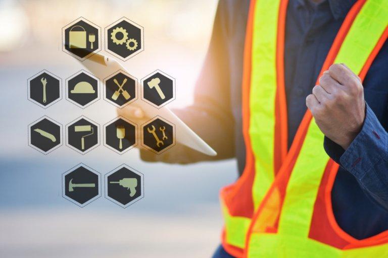 construction web logos