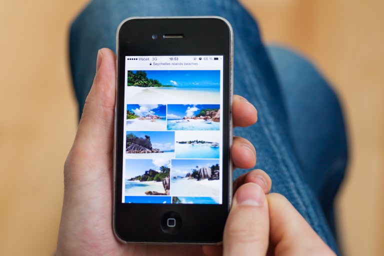 Google Images on iPhone