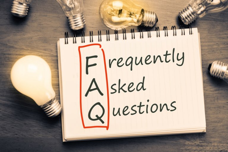 Frequently asked questions in writing
