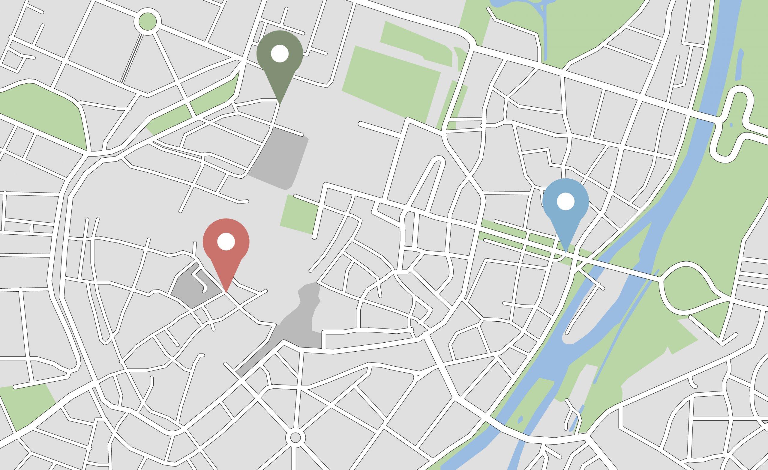 Service Area Page