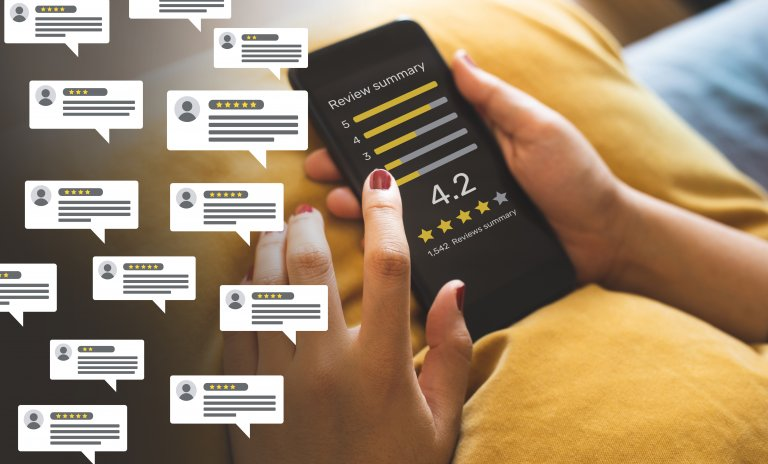 Reviews on Phone